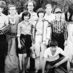 В 80-е годы во Дворце изучали международный язык эсперанто.