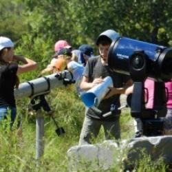 В 1985 году Дворец пионеров и школьников собрал юных любителей астрономии всей страны.